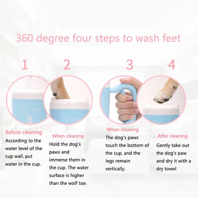 Automatic Foot Washer Pet Foot Washing Cup