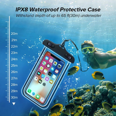 3PCS Universal Waterproof Case