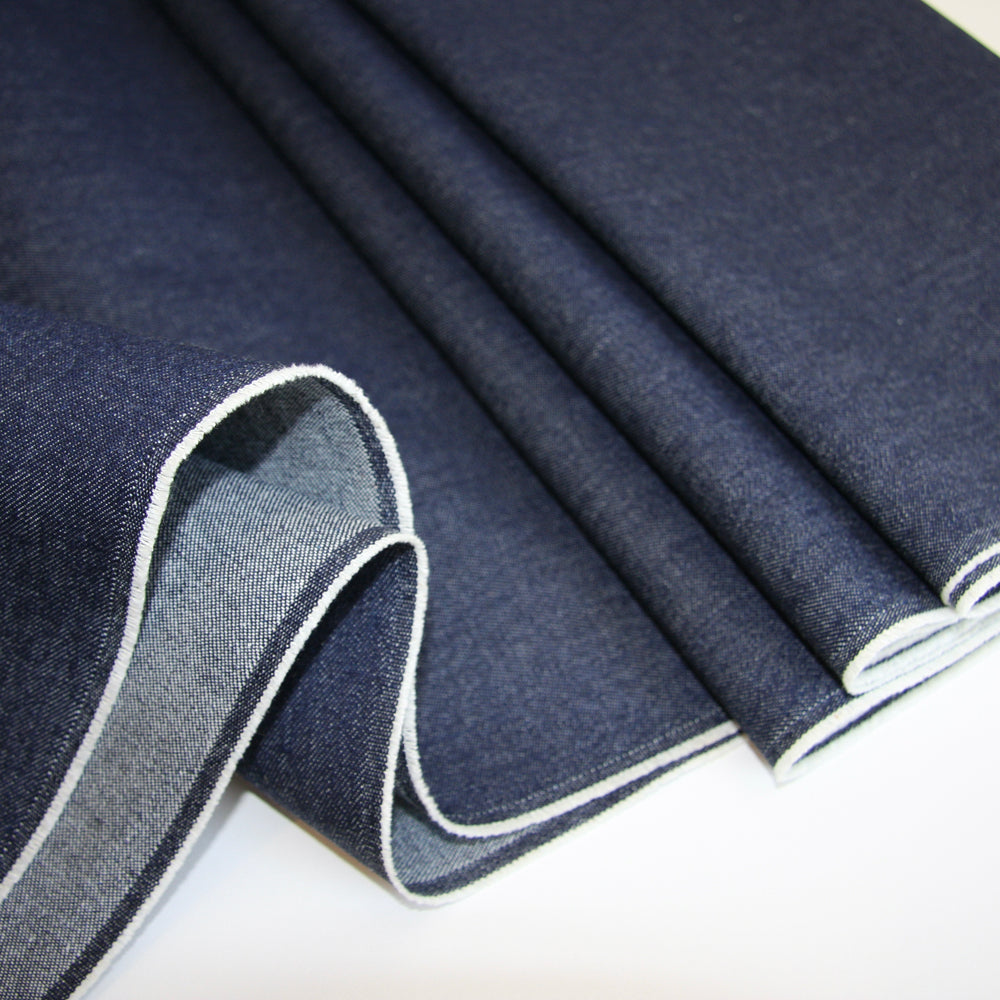 JAPANESE YARN DYED DENIM 10oz • Classic Blue • $39.00/metre