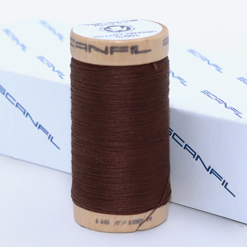 Load image into Gallery viewer, SCANFIL ORGANIC COTTON THREAD • 4829 • 100M