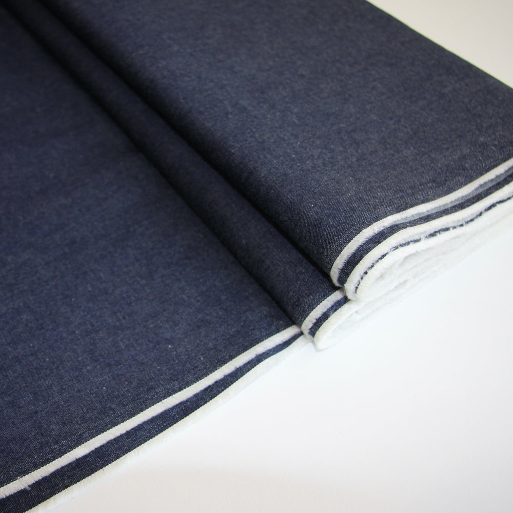 JAPANESE YARN DYED DENIM 5oz • Classic Blue • $38.00/metre