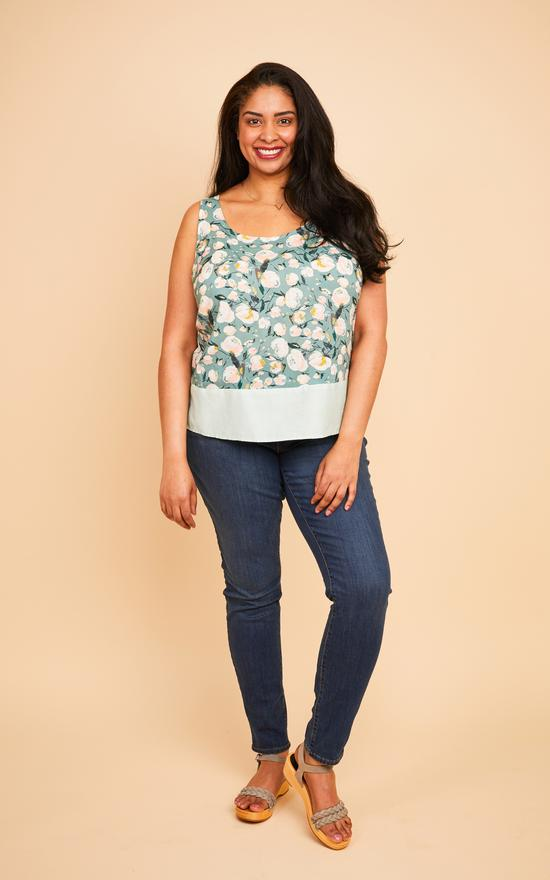 SPRINGFIELD TOP • Pattern