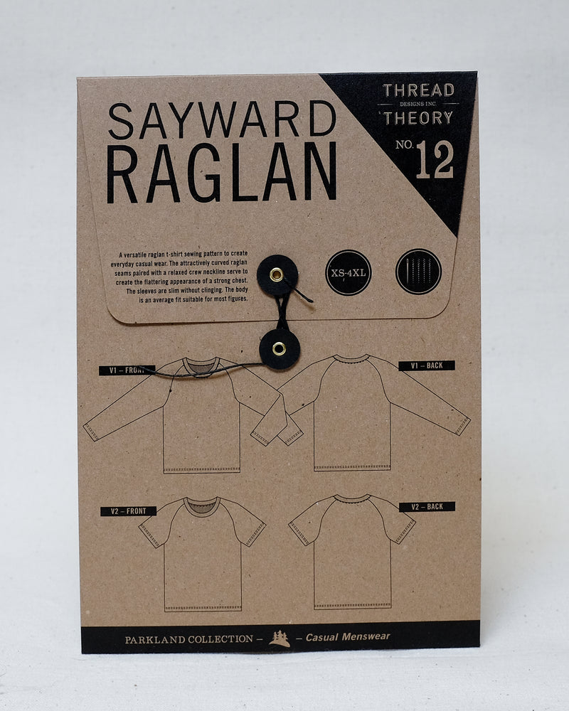 Load image into Gallery viewer, SAYWARD RAGLAN • Pattern