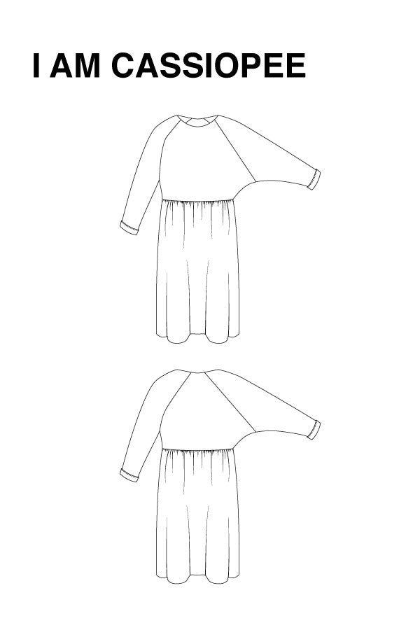 Load image into Gallery viewer, CASSIOPÉE DRESS • Pattern