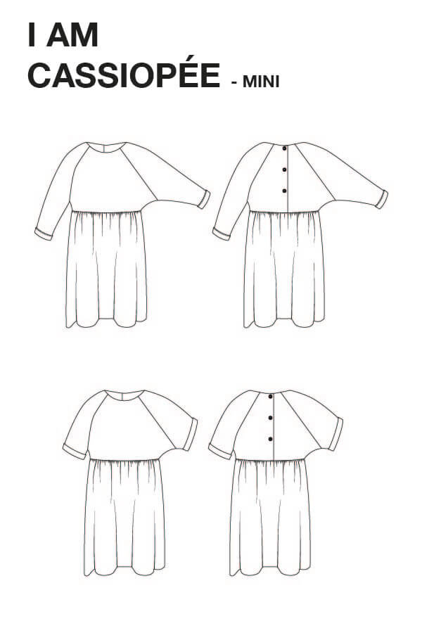 CASSIOPÉE DRESS MINI • KIDS • Pattern
