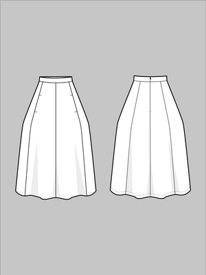 Load image into Gallery viewer, TULIP SKIRT • Pattern