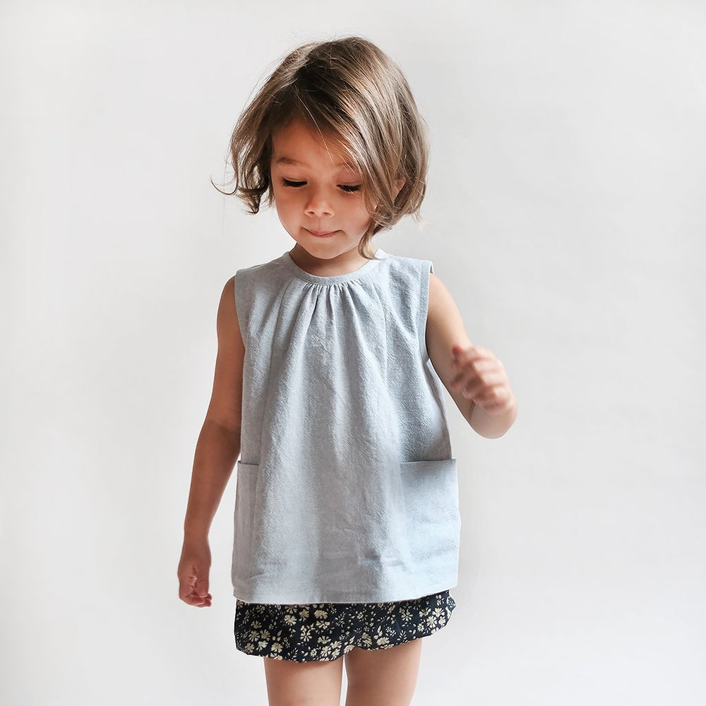 BABY & CHILD SMOCK TOP & DRESS • Pattern