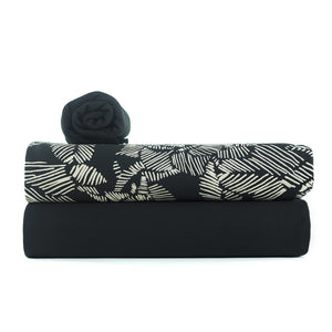Load image into Gallery viewer, RIBBING • Black $38.00/metre