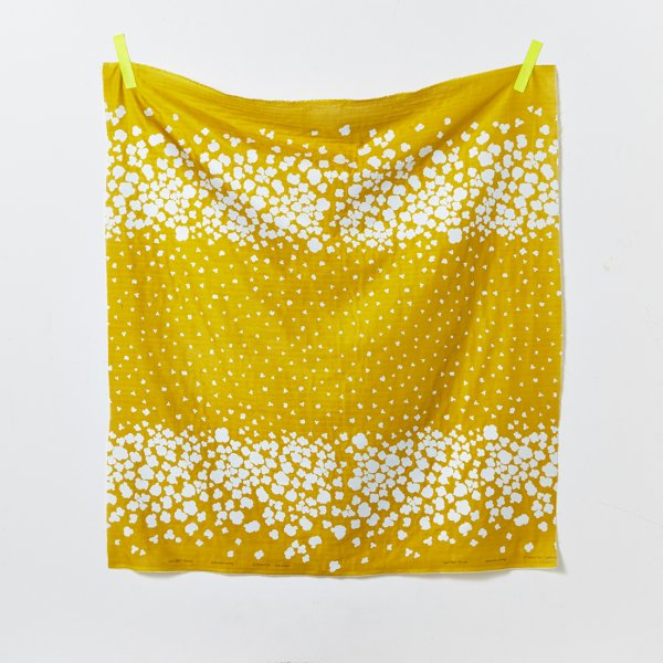 Load image into Gallery viewer, DOUBLE GAUZE • NANI IRO • COOING • Mustard $32.00/metre