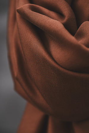 Load image into Gallery viewer, Smooth drape twill tencel Pecan