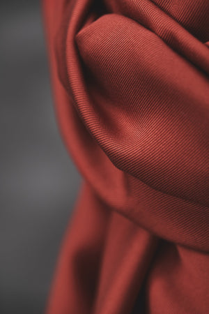 Smooth drape twill tencel Cider