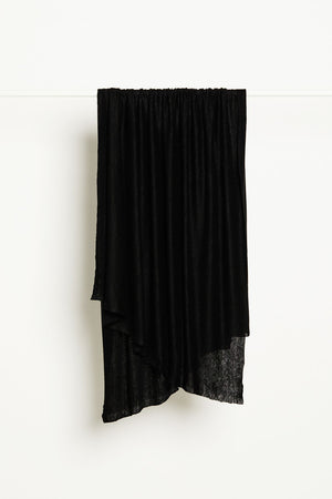 Load image into Gallery viewer, FINE LINEN KNIT • Black $49.00/metre