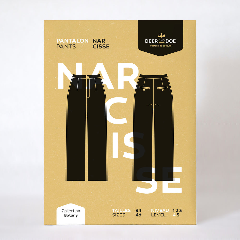 NARCISSE PANTS • Pattern