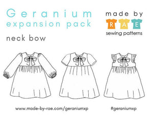GERANIUM EXPANSION PACK • Pattern