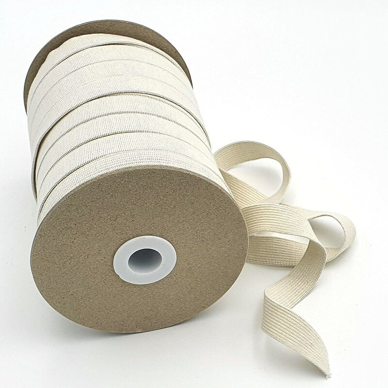 Organic Elastic 18mm wide flat