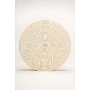 ORGANIC COTTON ELASTIC • Natural Un-dyed 40mm