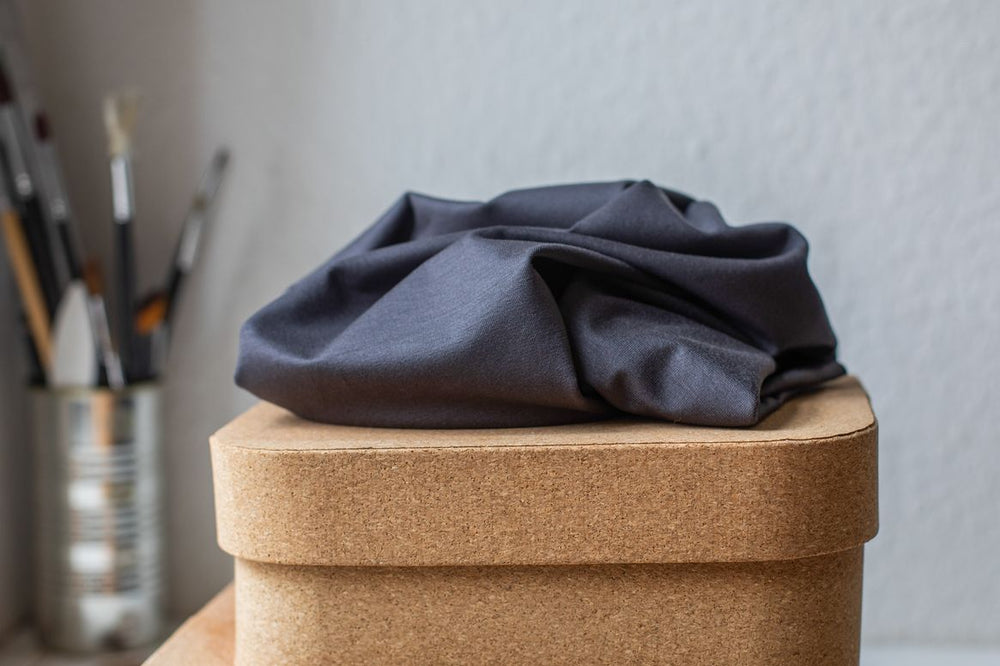 BASIC STRETCH JERSEY • TENCEL™ fibres • Grey $37.00/metre