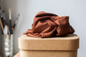 Load image into Gallery viewer, BASIC STRETCH JERSEY • TENCEL™ fibres • Pecan $37.00/metre