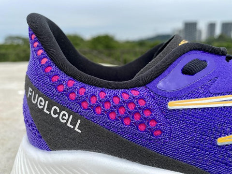 New Balance FuelCell RC Elite v2 Racing Shoes - Heel padding