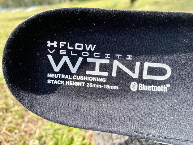 Under Armour Flow Velocity Wind Shoes Removable Insole