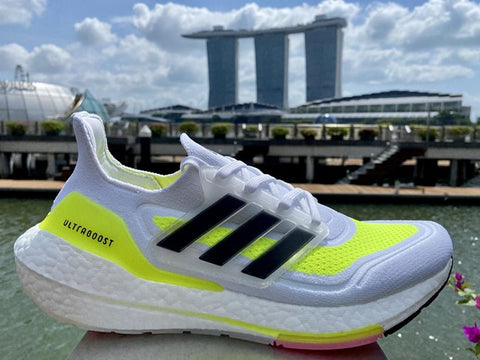 Adidas Ultraboost 21 Running Shoes Right Side View