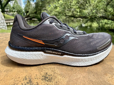 Saucony Triumph 19 Cushioning Running Shoes iRun - inner side view