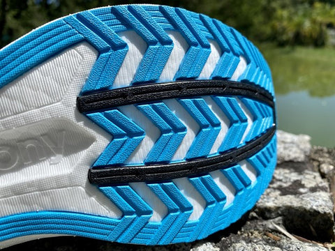 Saucony Endorphin speed 2 forefoot outsole