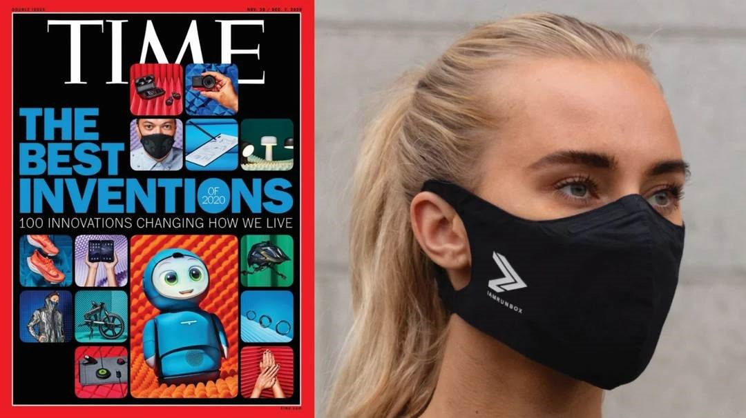 IAMRUNBOX face mask times magazine best inventions