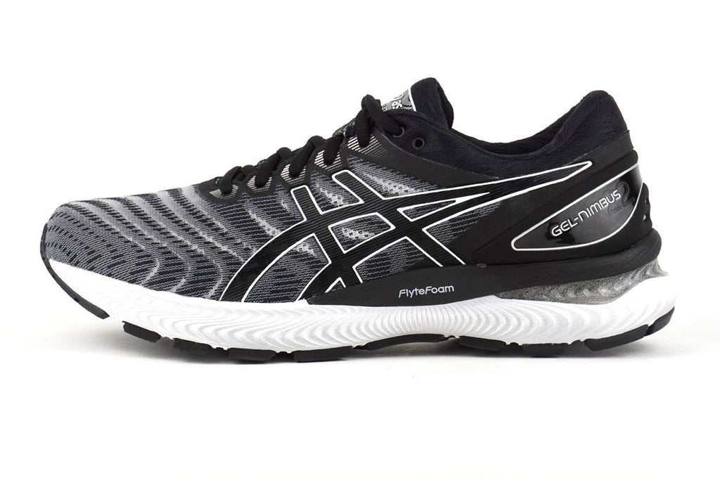 Asics Gel-Nimbus 22 Men's running shoes grey black irun irunsg 1011A680-100