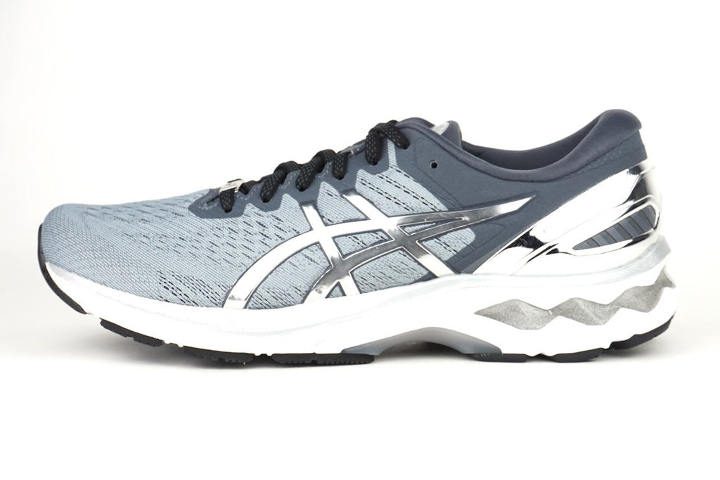 ASICS GEL-KAYANO 27 PLATINUM RUNNING SHOES FOR MEN IRUN IRUNSG