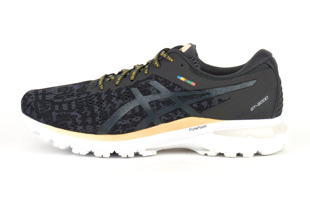 ASICS GT-2000 8 EDO era tribute black running shoes irun irunsg
