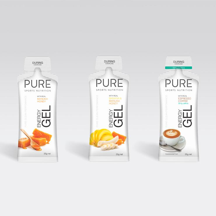 PURE SPORTS NUTRITION - ENERGY GEL 35G - iRUN Singapore