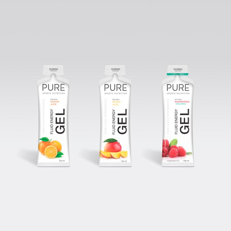 PURE SPORTS NUTRITION - ENERGY GEL 50G - iRUN Singapore