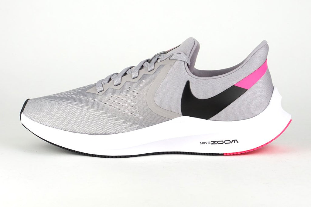 NIKE AIR ZOOM WINFLO 6 Men's Grey running shoes irun irunsg