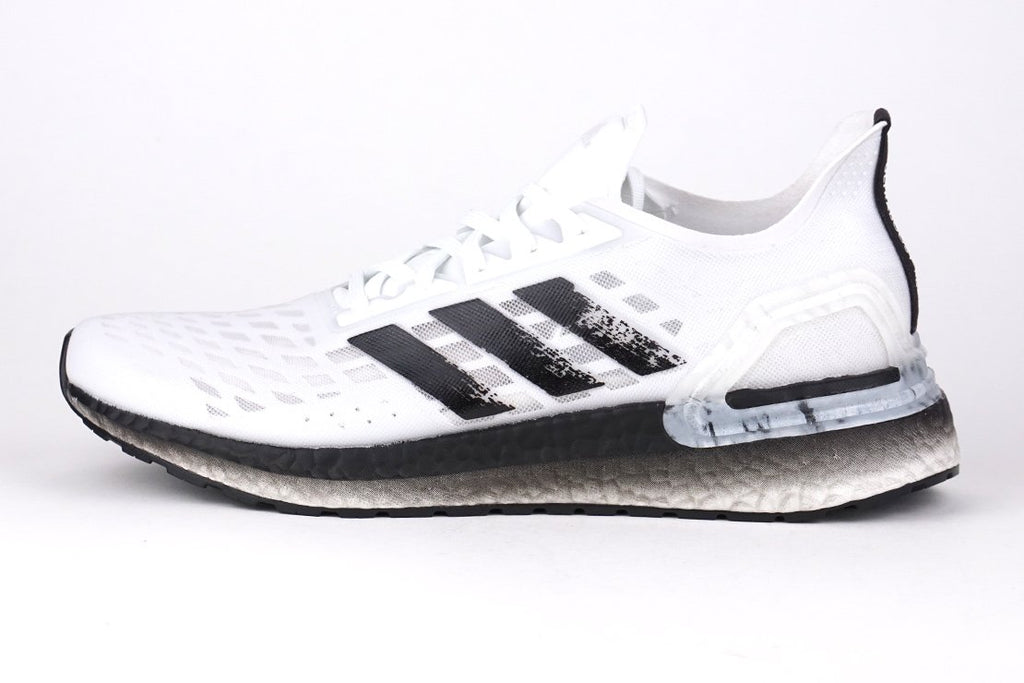 Adidas Ultraboost PB Racing shoes white men, running, irun irunsg