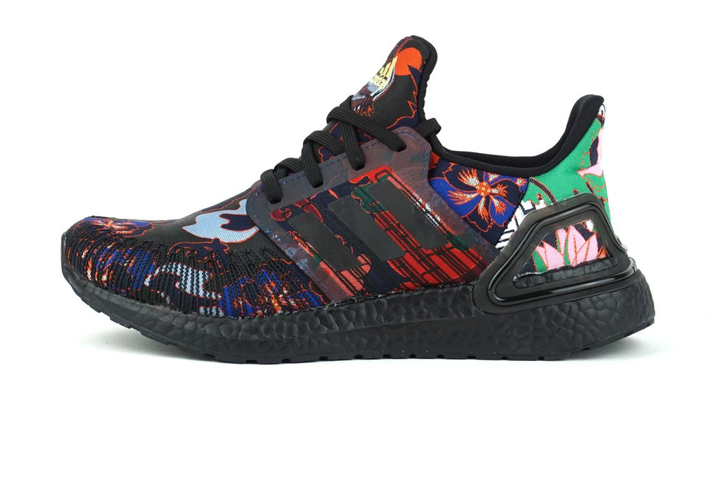 adidas ultraboost 20 chinese lunar new year running shoes for men, irun irunsg FX3602