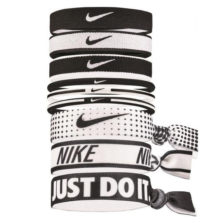 NIKE MIXED PONYTAIL HOLDER 9PCS WOMEN'S - iRUN Singapore