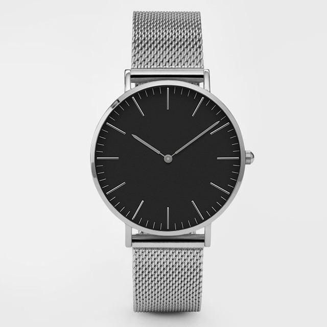 Ultra Thin Stainless Steel watch - CooolPanda