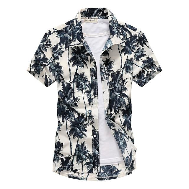 Men's Hawaiian Quick Dry Shirt - CooolPanda