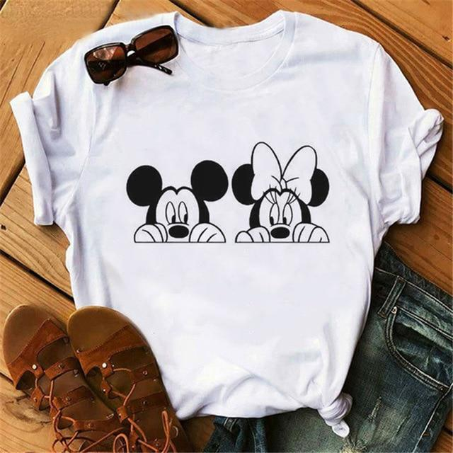 Mouse Cartoon Printing T Shirts - CooolPanda