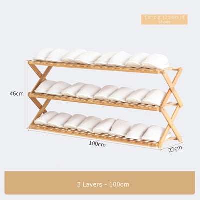 Household Foldable Shoe Rack