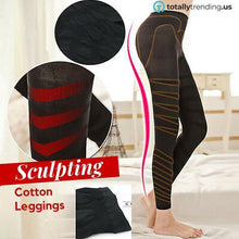Load image into Gallery viewer, Sculpting Cotton Leggings - Fit  Beauty Ness