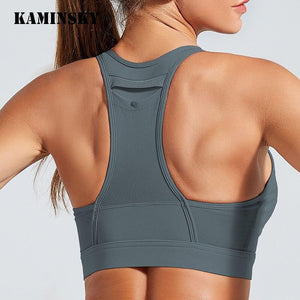 High Elastic Fitness  Bra Tops Sports - Fit  Beauty Ness