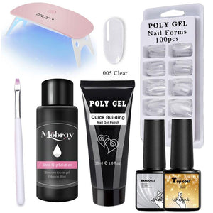 Poly Gel Kits 30g - 14pcs/kit 😍 - Fit  Beauty Ness