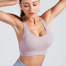 Load image into Gallery viewer, High Elastic Fitness  Bra Tops Sports - Fit  Beauty Ness