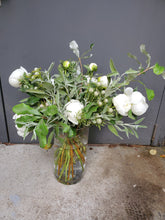 Load image into Gallery viewer, Sustainable Winter Foliage Bouquet