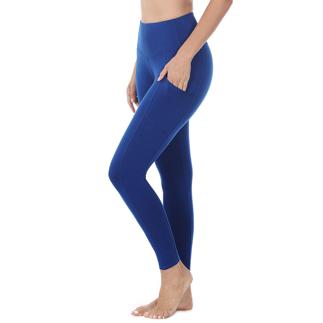 Blue Leggings with Pockets