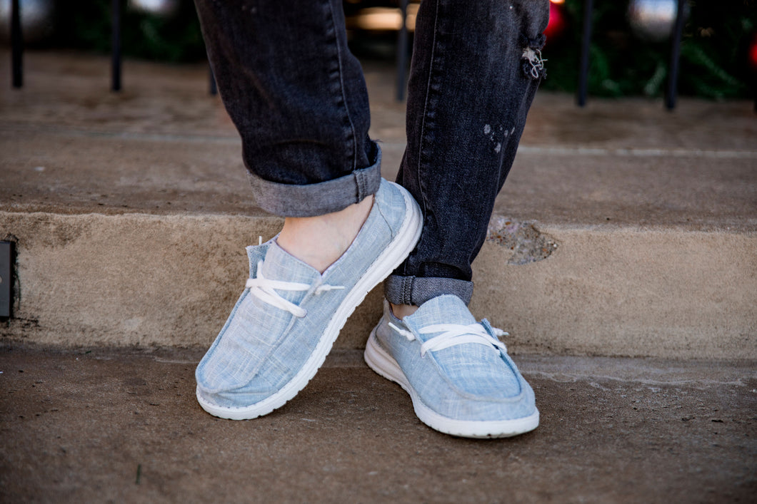 Avery Grey Cloud Shoes