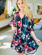 Load image into Gallery viewer, Floral Print Knit Dress