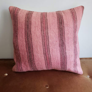 Berber Wool Pillow - Vintage Moroccan Floor Cushion VKFP040